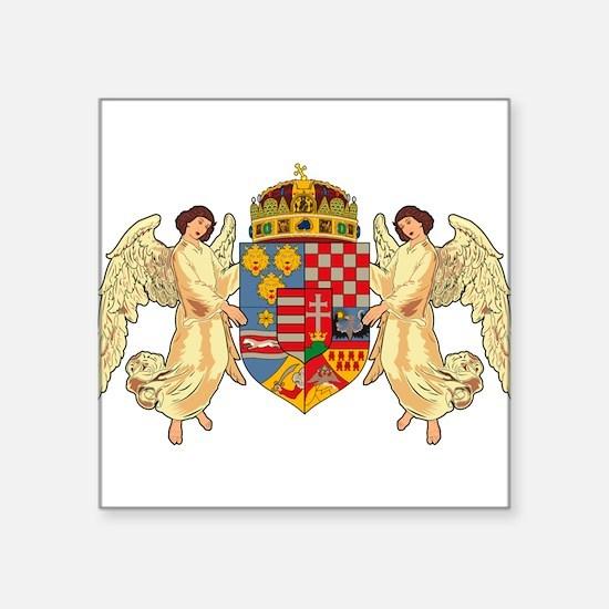 Hungary Coat of Arms (19th Ce Sticker (Rectangular