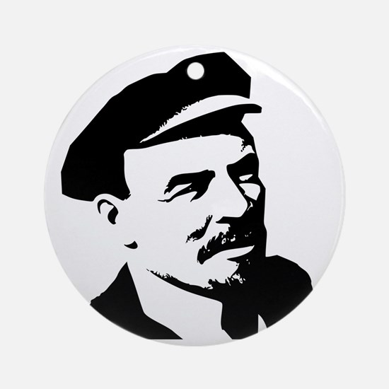 Lenin Round Ornament