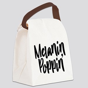 Melanin Poppin Canvas Lunch Bag