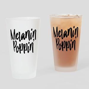 Melanin Poppin Drinking Glass
