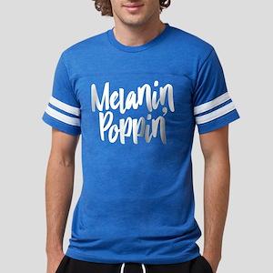 Melanin Poppin Mens Football Shirt