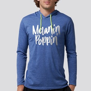 Melanin Poppin Mens Hooded Shirt