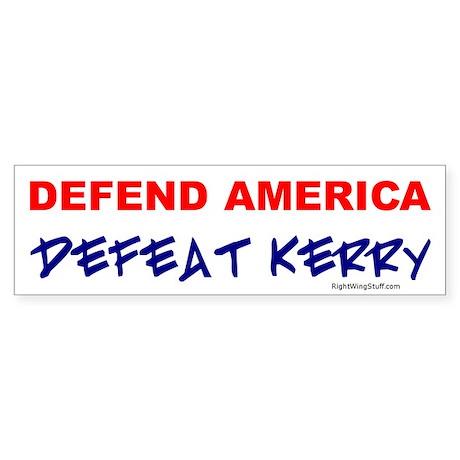 Defeat Kerry Bumper Sticker