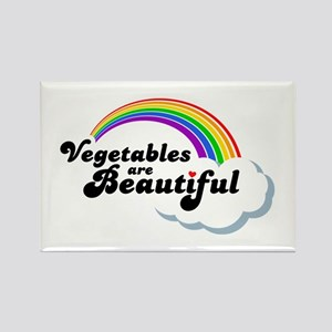 Vegetables are Beautiful! Rectangle Magnet