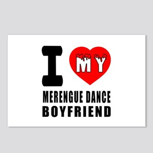 I Love My Merengue Dance Postcards (Package of 8)