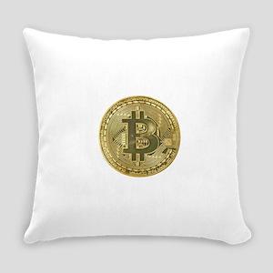 Bitcoin Everyday Pillow