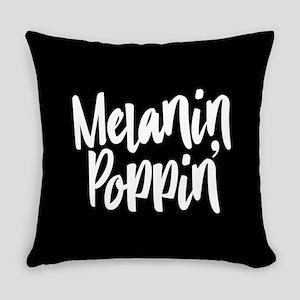 Melanin Poppin Everyday Pillow