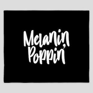 Melanin Poppin King Duvet