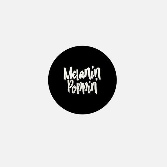 Melanin Poppin Mini Button (10 pack)