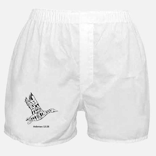 DUCK: Devoted Unto Christ's Kingdom Boxer Shorts