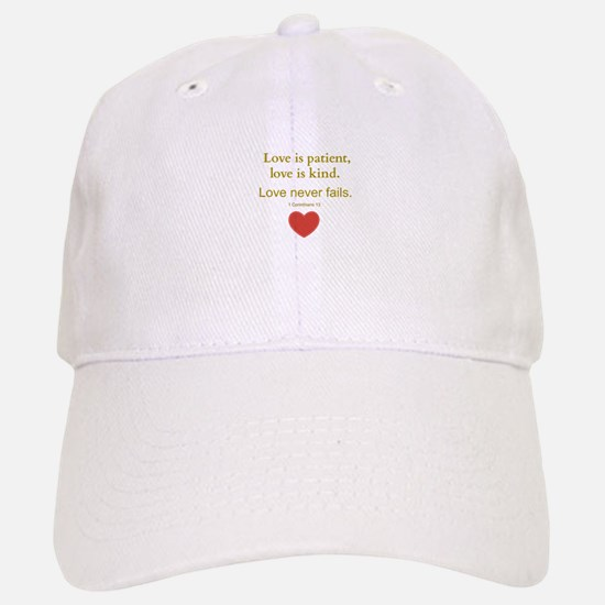 Love is Patient, Love is Kind Baseball Baseball Baseball Cap