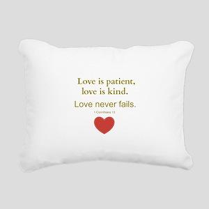 Love is Patient, Love is Kind Rectangular Canvas P