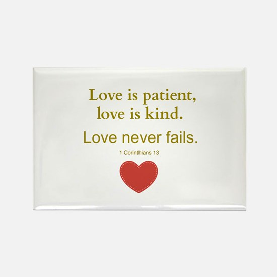 Love is Patient, Love is Kind Magnets