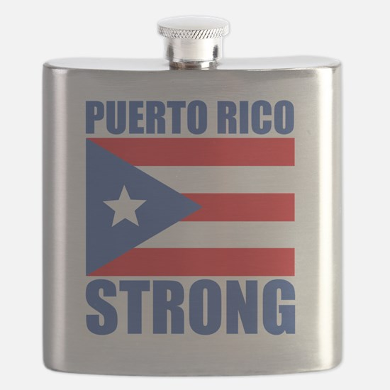 Unique Puerto rico Flask