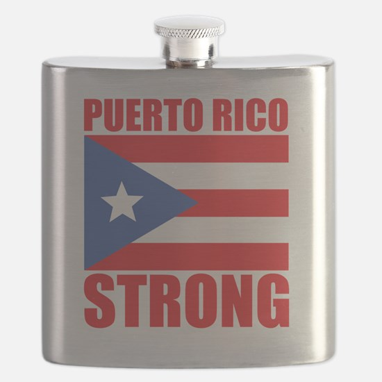Cute Puerto rico Flask