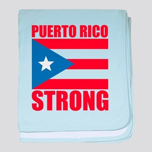 puerto rico strong baby blanket