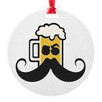 Beer Mustache Ornament
