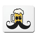 Beer Mustache Mousepad