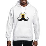 Beer Mustache Hoodie