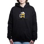 Beer Mustache Hooded Sweatshirt