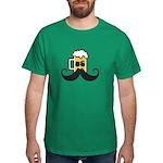 Beer Mustache T-Shirt