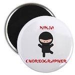 Ninja Choreographer Magnet