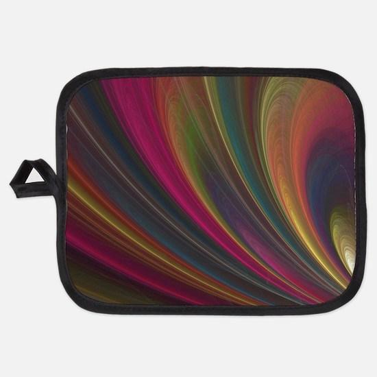 Fractal Colorful Art Potholder