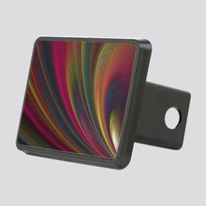 Fractal Colorful Art Rectangular Hitch Cover