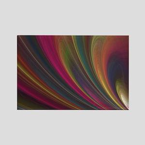 Fractal Colorful Art Rectangle Magnet