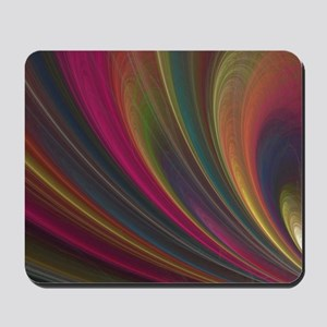 Fractal Colorful Art Mousepad