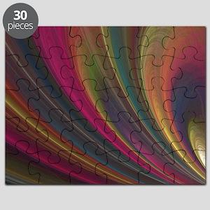 Fractal Colorful Art Puzzle