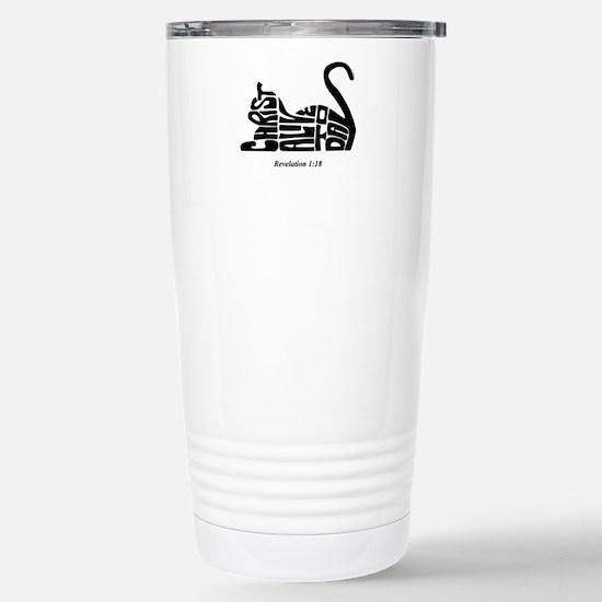 CAT: Christ Alive Today Travel Mug