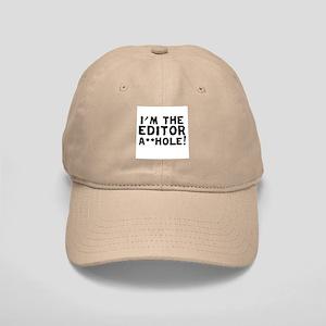"I'M THE "" F**KIN' EDITOR Cap"