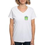 Fava Women's V-Neck T-Shirt