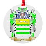 Fava Round Ornament