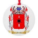 Fauth Round Ornament