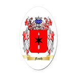Fauth Oval Car Magnet