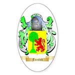 Faustov Sticker (Oval 50 pk)