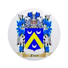 Faury Ornament (Round)