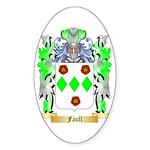 Faull Sticker (Oval 50 pk)