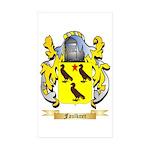 Faulkner Sticker (Rectangle 50 pk)