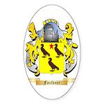 Faulkner Sticker (Oval)