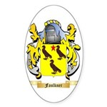 Faulkner Sticker (Oval 10 pk)