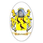 Faulkner Sticker (Oval 50 pk)