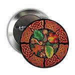 Celtic Autumn Leaves Button