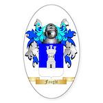 Faught Sticker (Oval 10 pk)