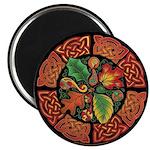 Celtic Autumn Leaves Magnet