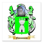 Fauconneau Square Car Magnet 3
