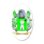 Fauconneau 35x21 Oval Wall Decal