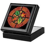 Celtic Autumn Leaves Keepsake Box